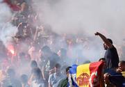 UEFA a deschis o procedura disciplinara impotriva Romaniei! Suporterii tricolorilor au aprins torte la meciul cu Elvetia!