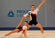 Romania a obtinut o medalie de argint la Campionatele Mondiale de gimnastica aerobica!