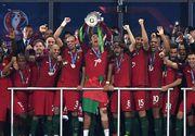 Nationala Portugaliei a castigat pentru prima data in istorie Campionatul European! Franta a pierdut pe teren propriu cu scorul de 0-1!