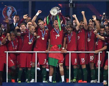Nationala Portugaliei a castigat pentru prima data in istorie Campionatul European!...
