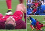 Mama lui Cristiano Ronaldo a reactionat dur, dupa ce fiul ei a fost doborat de un adversar