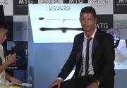 "Reactia lui Cristiano Ronaldo cand publicul a inceput sa rada de baiatul japonez care i-a pus o intrebare in portugheza: ""De ce faceti asta? Ar trebui sa fiti fericiti"""