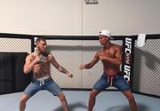 Ronaldo, in ring cu luptatorul profesionist de MMA, Conor McGregor. Ce mesaj a postat apoi fotbalistul pe internet