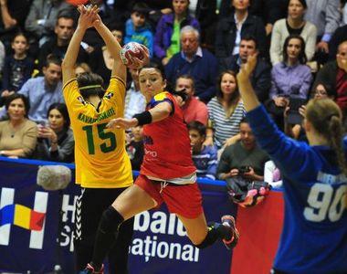 JO 2016. Romania, umilita de Brazilia la handbal, in al doilea meci din grupa A, scor...