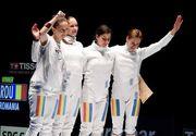 Echipa feminină de spada, calificata in finala, aduce prima medalie a României la Rio