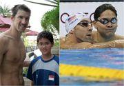 L-a adorat timp de 8 ani, iar acum a ajuns sa il invinga. Povestea inotatorului din Singapore care l-a invins pe Phelps la Jocurile Olimpice