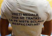 """Mesajul dur al unei handbaliste din Romania la adresa autoritatilor. """"Toti cereti medalii, dar ne tratati ca pe niste sclavi"""""""