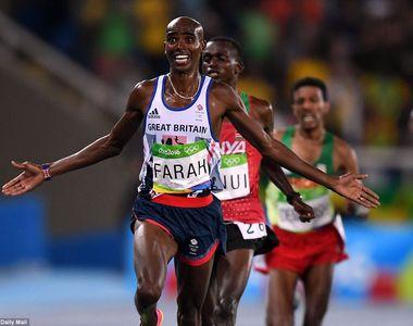 A cazut la jumatatea cursei, s-a ridicat si a castigat medalia de aur. Atletul britanic...