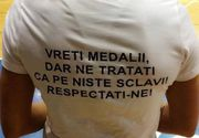 """Mesajul dur al unei handbaliste către autorităţi: """"Vreţi medalii, dar ne trataţi ca pe niste SCLAVI!"""""""