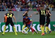 Esec usturator! Steaua, invinsa de Manchester City cu 5-0 in prima mansa din play-off-ul Ligii Campionilor. Agüero a ratat doua penaltiuri si a inscris de trei ori