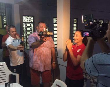 Petrecere la Rio pentru Catalina Ponor. Gimnasta a implinit 29 de ani si a fost...