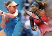 Simona Halep, învinsă de Serena Williams, în trei seturi, în sferturile de finală ale US Open