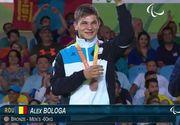 Prima medalie la Jocurile Paralimpice pentru Romania! Alex Bologa a luat bronzul. Povestea trista a tanarului care a ramas fara vedere de la 7 ani