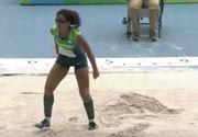 Jocurile Paralimpice de la Rio. O nevazatoare din Brazilia castiga medalia de aur la saritura in lungime
