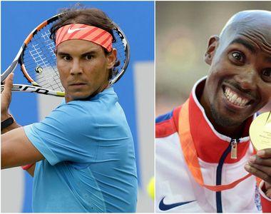 Rafael Nadal si Mo Farah, pe lista sportivilor carora li s-a permis sa foloseasca...