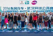 Cum s-a imbracat Simona Halep la petrecerea jucatoarelor de la turneul de la Wuhan. A atras toate privirile