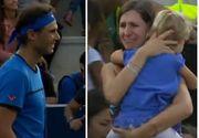 Meci de tenis intrerupt de tenismenul Nadal, pentru ca o mama din tribune sa isi gaseasca fiica