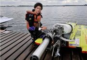 Campionul mondial in cursele de barci de mare viteza a murit in timpul unei competitii