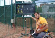 A ramas fara picioare de la varsta de 3 ani, dar a ajuns campion la tenis! Ionut Filisan a fost incurajat si de presedintele Klaus Iohannis!