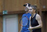 """""""Refuza sa pierzi"""", noul slogan al Simonei Halep. Jucatoarea de tenis se antreneaza zilnic"""