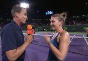 Simona Halep, victorie dupa victorie: Am jucat cel mai bun tenis din acest an, m-am simtit usoara pe teren