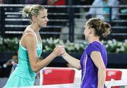 """""""As fi batut 99% din fete cu tenisul pe care l-am jucat!"""" Declaratiile Karolinei Pliskova dupa ce a fost invinsa de Simona Halep"""
