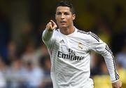 Cristiano Ronaldo a fost suspendat cinci meciuri dupa ce l-a impins pe arbitru, in Supercupa Spaniei