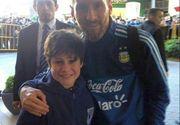 Gestul lui Messi a induiosat o lume intreaga! Dupa asta, baietelul a plecat cu lacrimi in ochi
