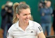 Turneul Campioanelor: Simona Halep o invinge pe Caroline Garcia, in primul meci din Grupa Rosie