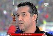 De nerecunoscut! Iata cum se comporta Gigi Becali intr-unul din primele interviuri, in calitate de finantator al Stelei. S-a intamplat in urma cu 17 ani