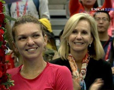 "Victorie pentru Simona Halep, la Shenzhen: "" Ma bucur ca am castigat primul meci..."