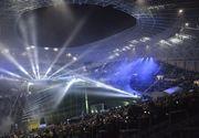 """Probleme la stadionul Ion Oblemenco inainte de amicalul Romania - Suedia! """"Apa se prelinge pe peretii care sustin inelul perimetral al stadionului"""""""