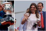 Acesta este MOTIVUL pentru care Simona Halep a revenit in tara cu REPLICA trofeului castigat la Roland Garros