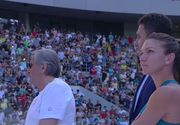 Simona Halep a fost ceruta in CASATORIE, pe Arena Nationala. Avem imagini cu tanarul care i-a adresat marea intrebare campioanei