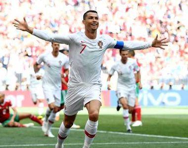 Portugalia a invins Maroc, scor 1-0, in grupa B de la Cupa Mondiala!  Cristiano Ronaldo...