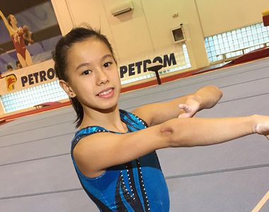Lovitura grea pentru Asiana Peng, gimnasta exclusa din lotul national! Sportiva nu...