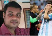 Campionatul Mondial de fotbal 2018. Un tanar s-a sinucis dupa infrangerea Argentinei cu Croatia!