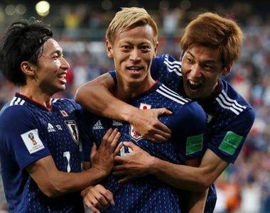 Campionatul Mondial de fotbal 2018. Japonezul Honda a inscris al saptelea gol din...