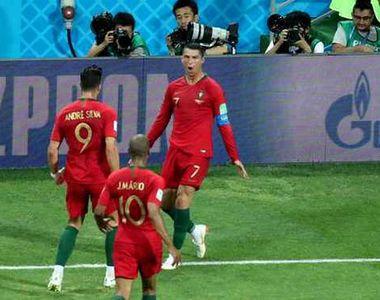 Campionatul Mondial de fotbal 2018. Fanii iranieni nu l-au lasat pe Ronaldo sa doarma...