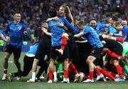 Campionatul Mondial de fotbal 2018. Croatia invinge dramatic Danemarca, dupa lovituri de departajare, si merge in sferturi!