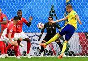 Campionatul Mondial de Fotbal. Suedia a invins Elvetia si s-a calificat in sferturile de finala ale Cupei Mondiale! urmeaza Anglia - Columbia, ultima optime de finala