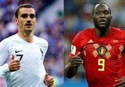 Prima semifinala de la Mondialul din Rusia se joaca in aceasta seara. Franta da piept cu Belgia intr-un meci ce se anunta spectaculos