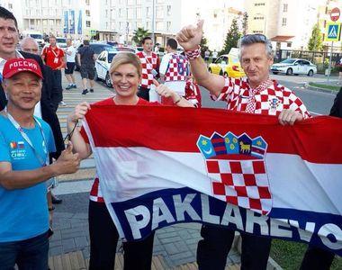 Mesajul Kolindei Grabar Kitarovic, presedinta Croatiei, inaintea Finalei Campionatului...