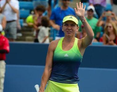 Simona Halep s-a calificat in sferturi la Cincinnati. Liderul WTA a invins-o pe...