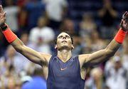 Forma de zile mari a lui Rafael Nadal la US Open! Spaniolul este in semifinale!