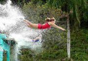 Diana Bulimar şi Silvia Stroescu au inventat sărituri care le poartă numele! Vezi cum au intrat în istorie gimnastele de la Exatlon! VIDEO