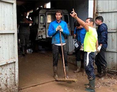 Rafael Nadal îşi oferă ajutorul pentru victimele inundaţiilor din Insulele Baleare