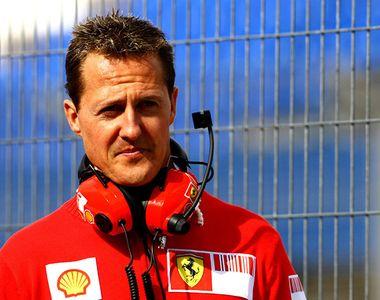 Un apropiat al lui Michael Schumacher şi-a luat deja adio de la marele campion de...