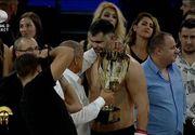 Momente emotionante la meciul lui Daniel Ghita de la Cluj! Sotia si copilul au fost in tribune! Ce a spus campionul imediat dupa victorie despre ei!
