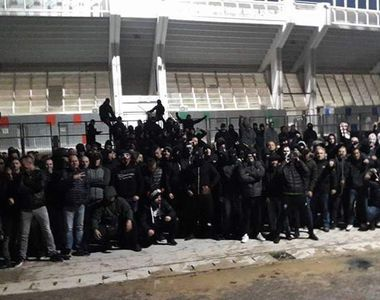 Razboi intre fani lui Amsterdam si cei ai lui AEK la Atena! Ultrasii lui Panathinaikos...